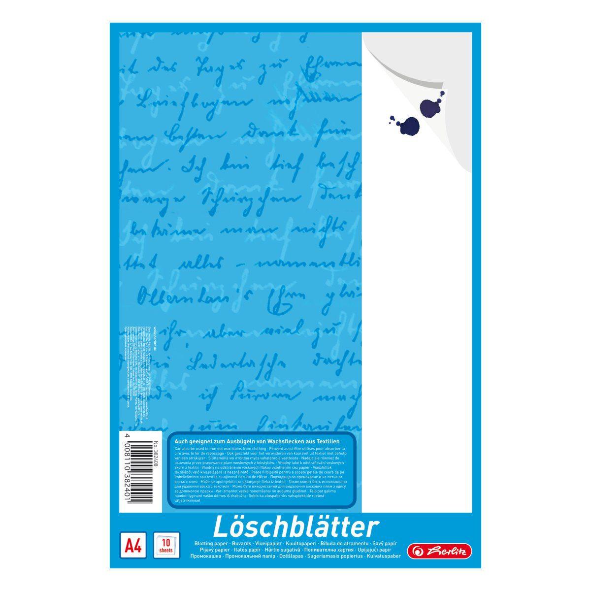 Hârtie Sugativă, A4, Albă, Herlitz, 382408