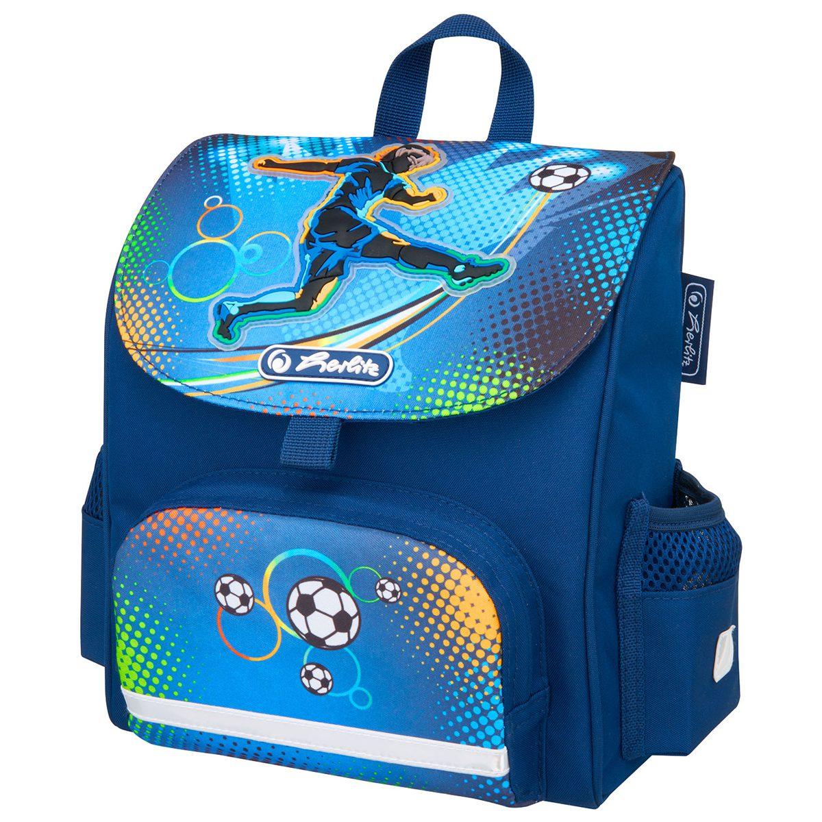 Ghiozdan Neechipat, Ergonomic, Mini Softbag Soccer, Herlitz, 50008155