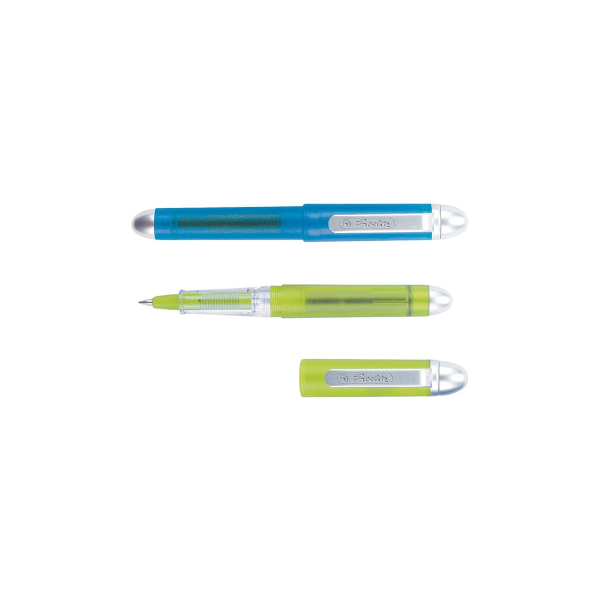 Roller Pocket, 2 Culori Asortate, Blister, Herlitz, 10412294