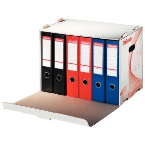 Container Pentru Arhivare de Bibliorafturi, Standard, Esselte, 10964