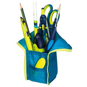 Penar Necessaire & Suport Instrumente de Scris, Albastru & Lemon, Herlitz, 11359908