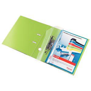 Dosar din Polipropilenă, A4, cu Şină, Multiperforaţii, Diverse Culori, Esselte