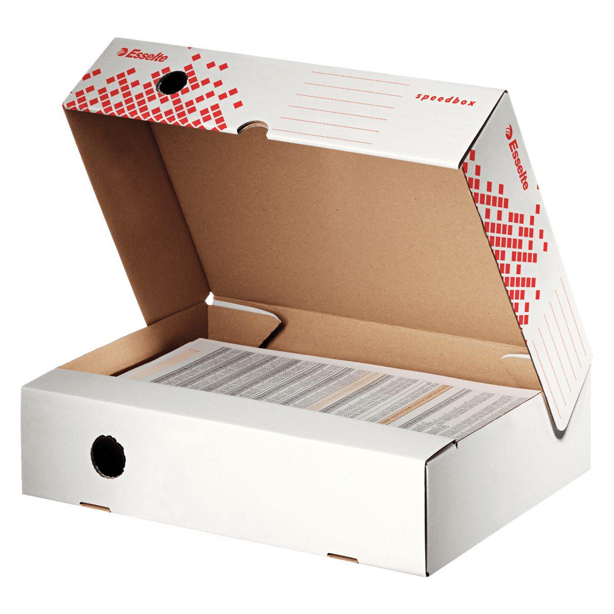 Cutie Pentru Arhivare, Orizontală, Speedbox 80, Esselte, 623910