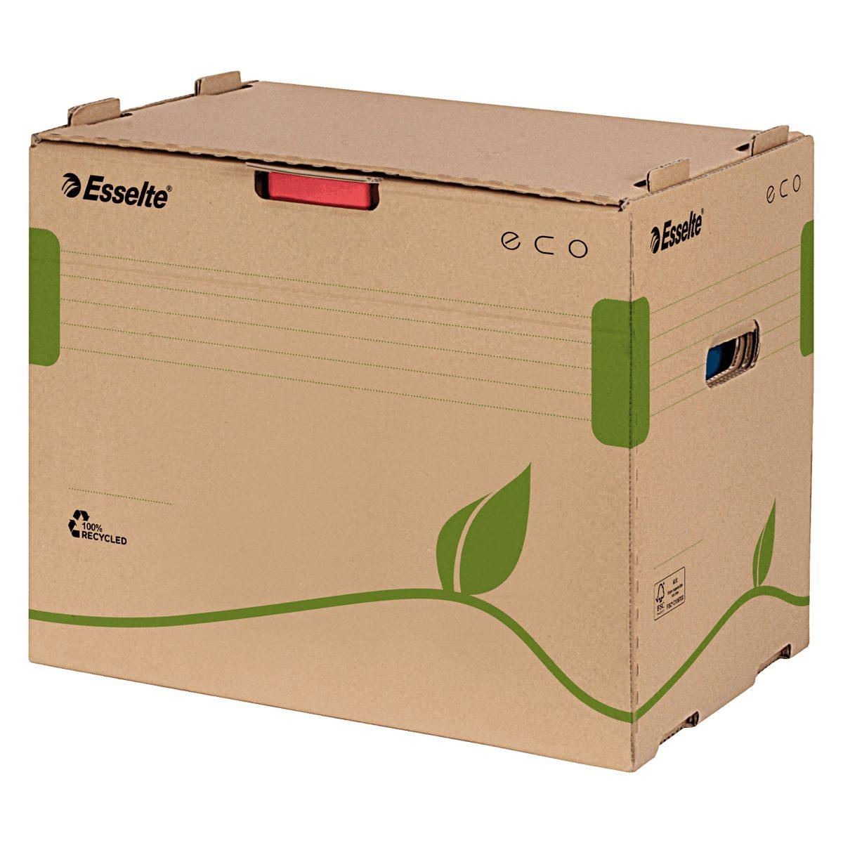 Container Pentru Arhivare Bibliorafturi, Eco, Esselte, 623920