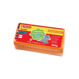 Plastilină Soft Clay, 500 Grame, Diferite Culori, Neon, Herlitz