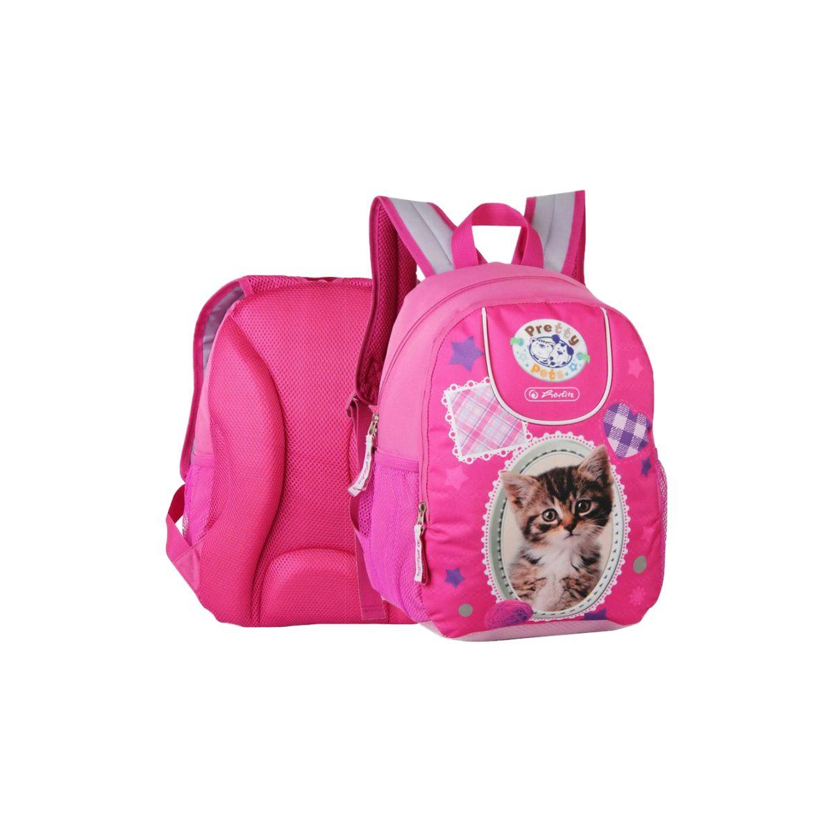 Rucsac cu un Compartiment, Pretty Pets Cat, Herlitz, 9465920-PISICA