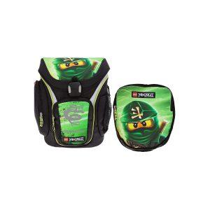 Ghiozdan Pentru Şcoală & Sac Sport, Explorer, NinjaGo Lloyd, Core Line, Verde, Lego, LG-20018-1717