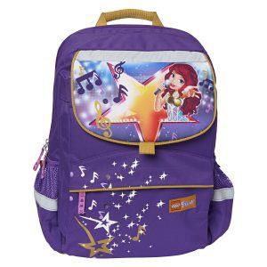 Ghiozdan Pentru Şcoală, Starter Plus, Friends Popstar, Core Line, Mov, Lego, LG-20022-1705
