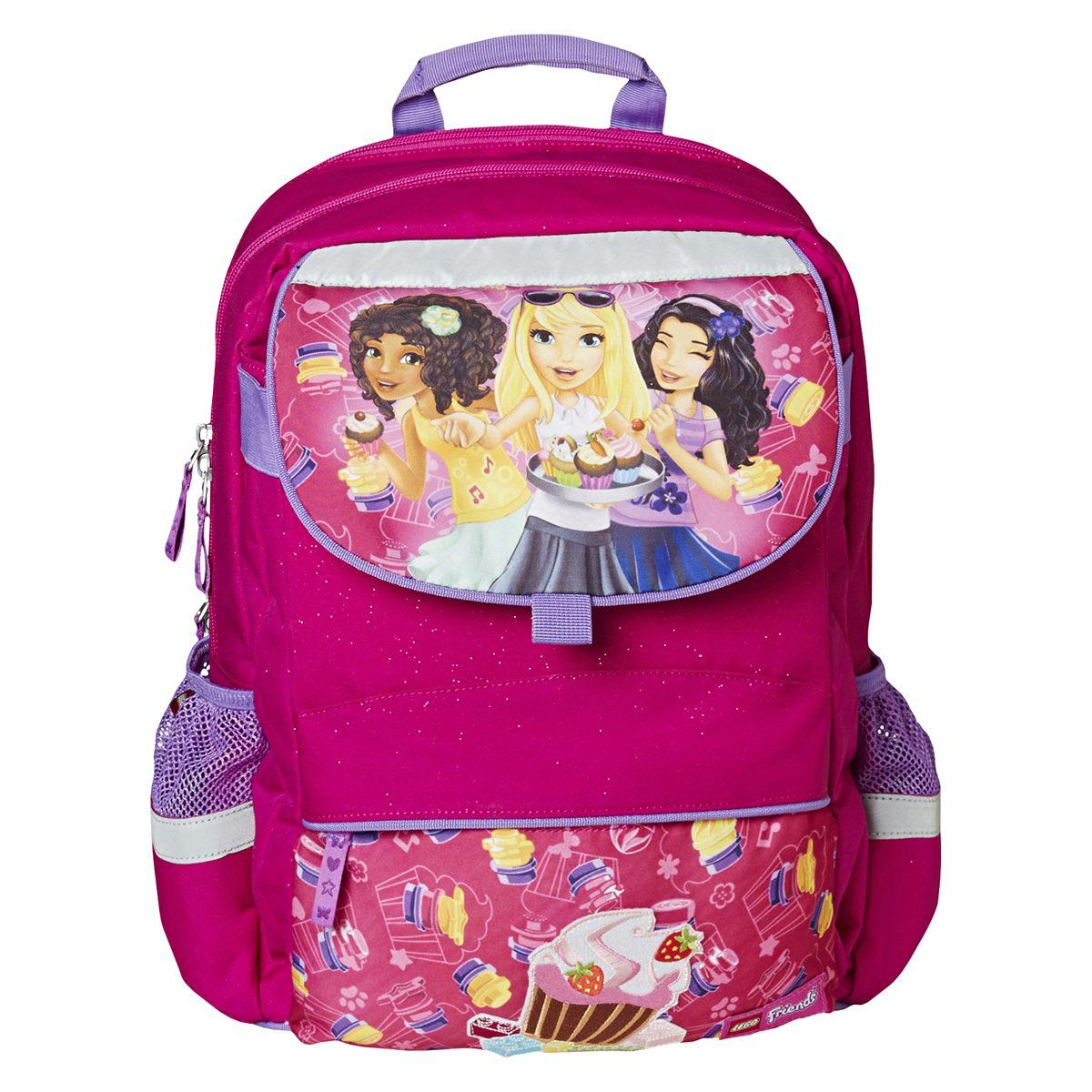 Ghiozdan Pentru Şcoală, Starter Plus, Friends Cupcake, Core Line, Roz, Lego, LG-20022-1711