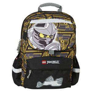 Ghiozdan Pentru Şcoală, Starter Plus, NinjaGo Cole, Core Line, Negru, Lego, LG-20022-1714