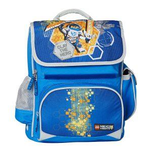 Ghiozdan Pentru Şcoală, Premium, Nexo Knights, Core Line, Bleu, Lego, LG-20028-1708