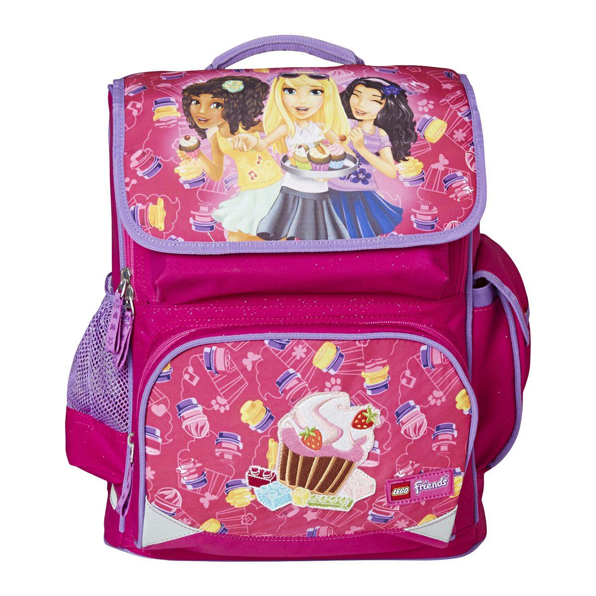 Ghiozdan Pentru Şcoală, Premium, Friends Cupcake, Core Line, Roz, Lego, LG-20028-1711