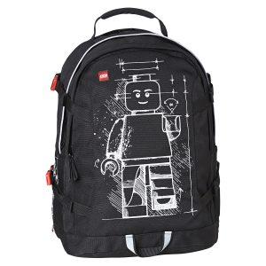 Rucsac, Tech Teen Minifigure, Core Line, Negru, Lego, LG-20041-1715
