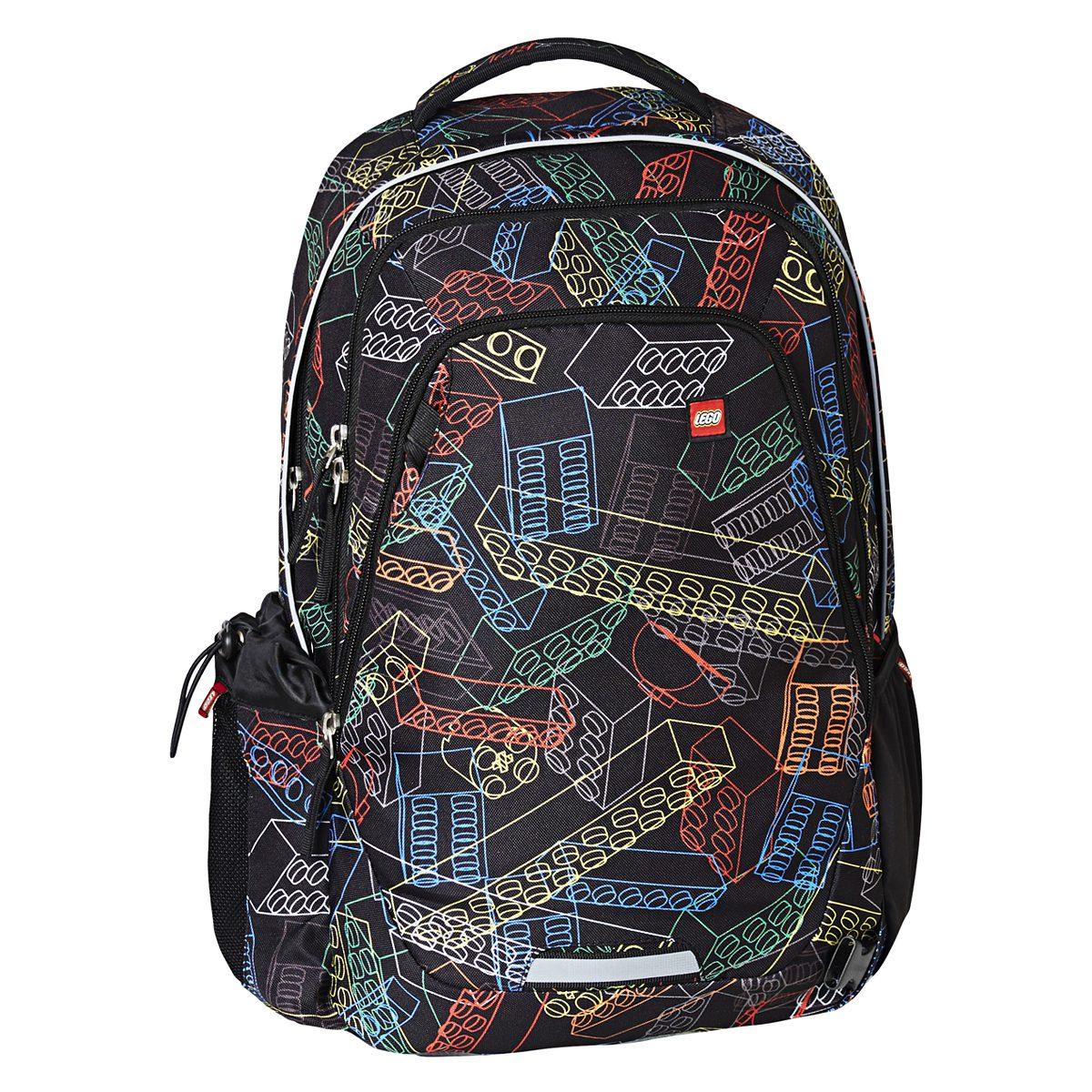Rucsac, Zero, Bricks, Core Line, Negru, Lego, LG-20042-1716