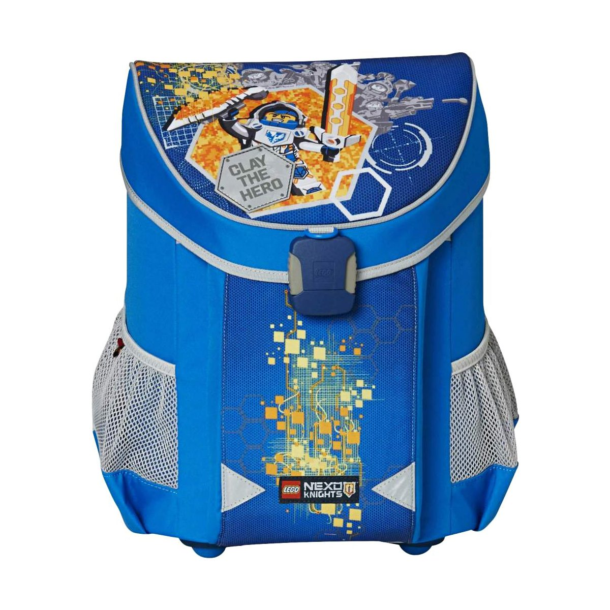 Ghiozdan Pentru Şcoală, Nexo Knights, Easy, Core Line, Bleu, Lego, LG-20043-1708