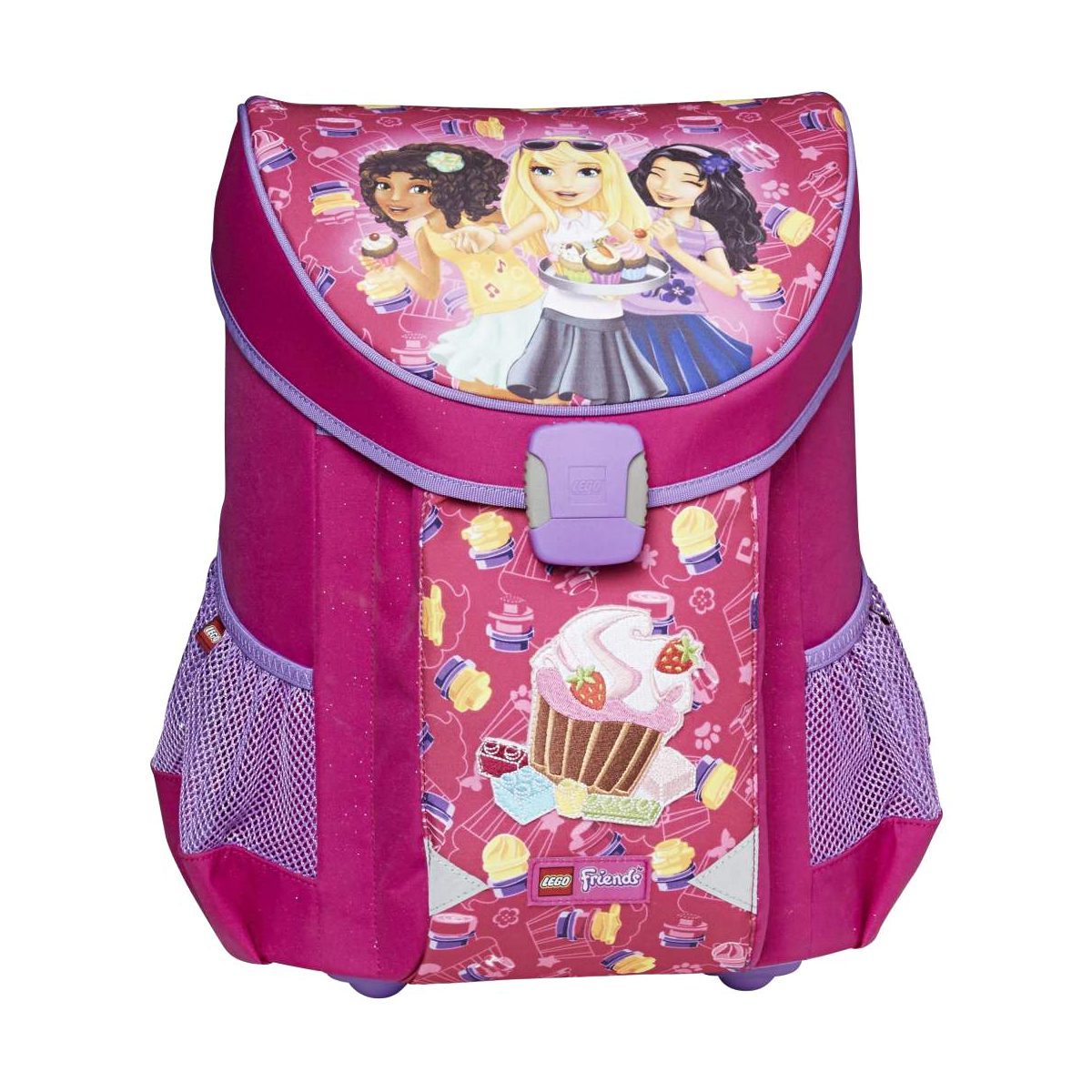 Ghiozdan Pentru Şcoală, Friends Cupcake, Easy, Core Line, Roz, Lego, LG-20043-1711
