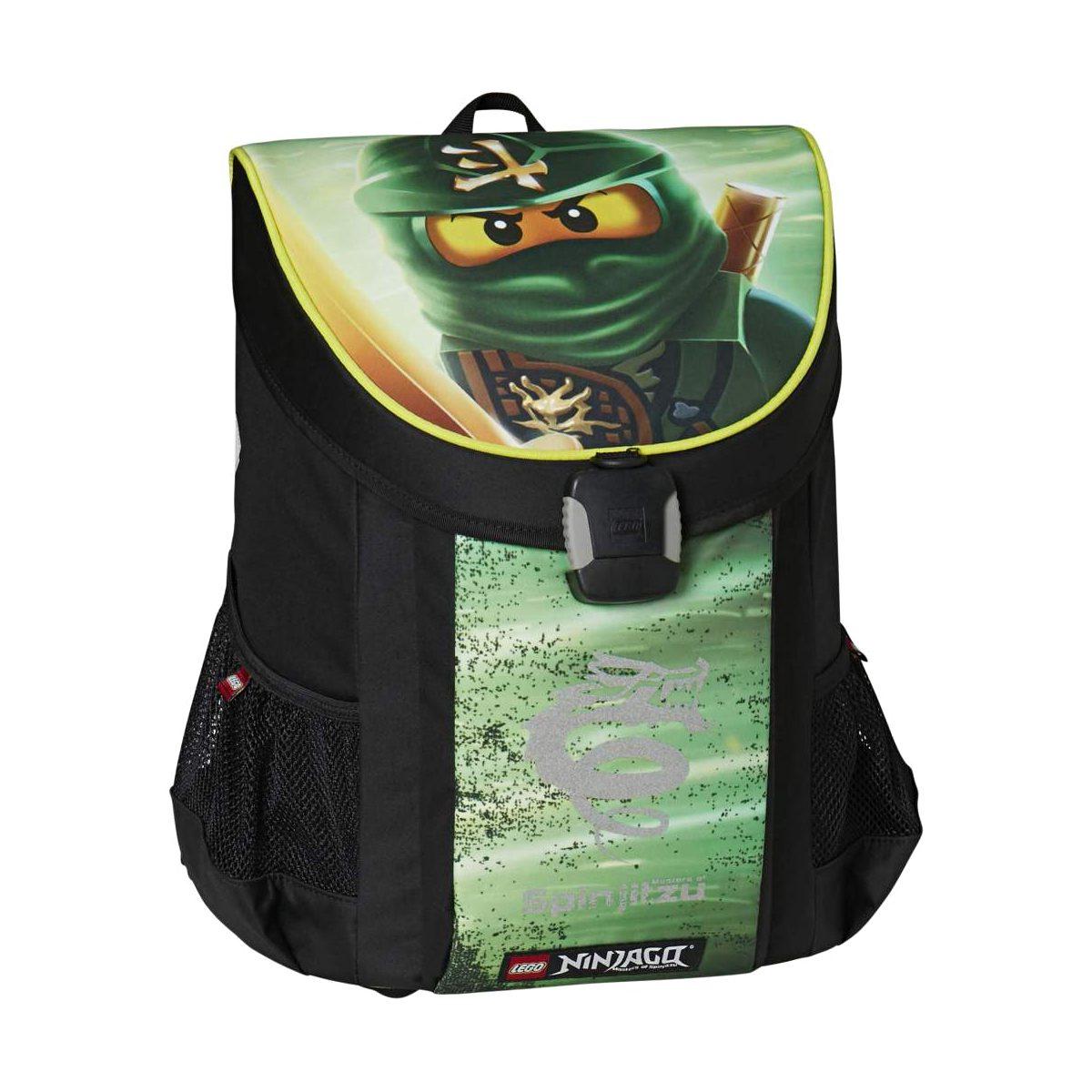 Ghiozdan Pentru Şcoală, NinjaGo Lloyd, Easy, Core Line, Verde, Lego, LG-20043-1717