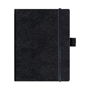 Bloc Notes A5, 96 File, Matematică, Copertă din Piele Artificială, My.Book Classic, Negru, Herlitz, 10789428