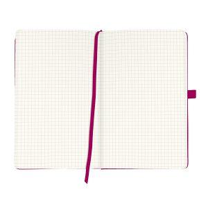 Bloc Notes A5, 96 File, Matematică, Copertă din Piele Artificială, My.Book Classic, Mov, Herlitz, 11369071