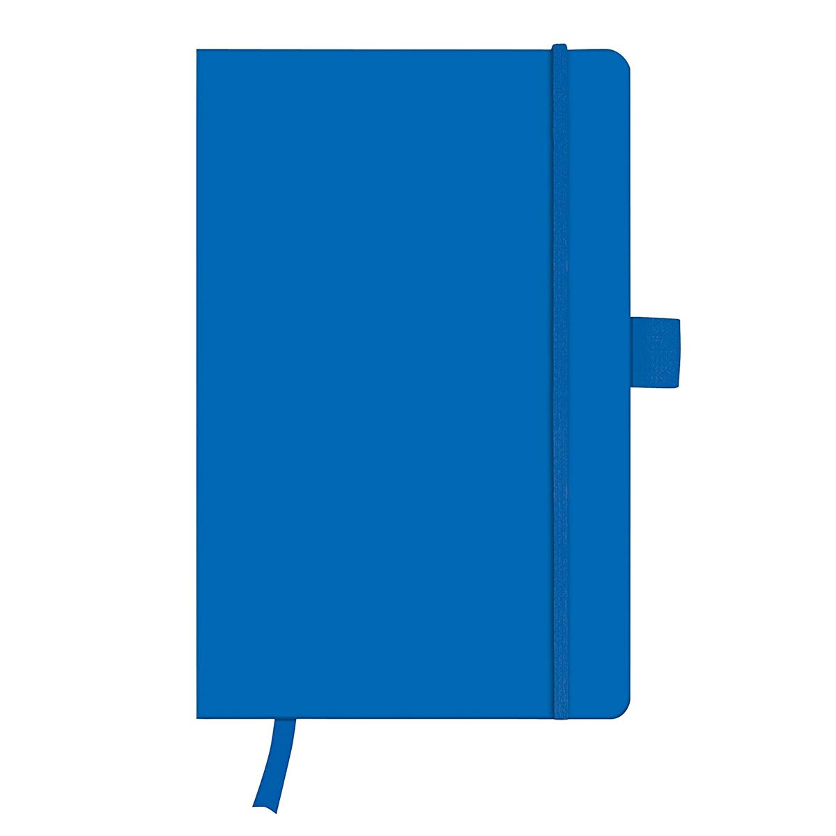 Bloc Notes A5, 96 File, Matematică, Copertă din Piele Artificială, My.Book Classic, Albastru, Herlitz, 11369097