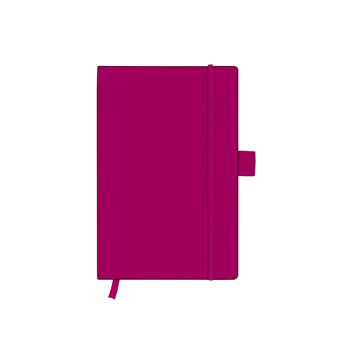 Bloc Notes A6, 96 File, Dictando, Copertă din Piele Artificială, My.Book Classic, Mov, Herlitz, 11369113
