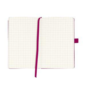 Bloc Notes A6, 96 File, Matematică, Copertă din Piele Artificială, My.Book Classic, Mov, Herlitz, 11369154