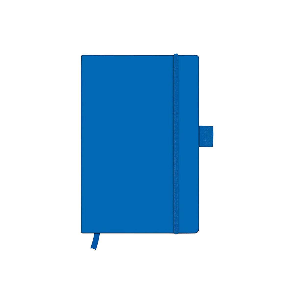 Bloc Notes A6, 96 File, Matematică, Copertă din Piele Artificială, My.Book Classic, Albastru, Herlitz, 11369162