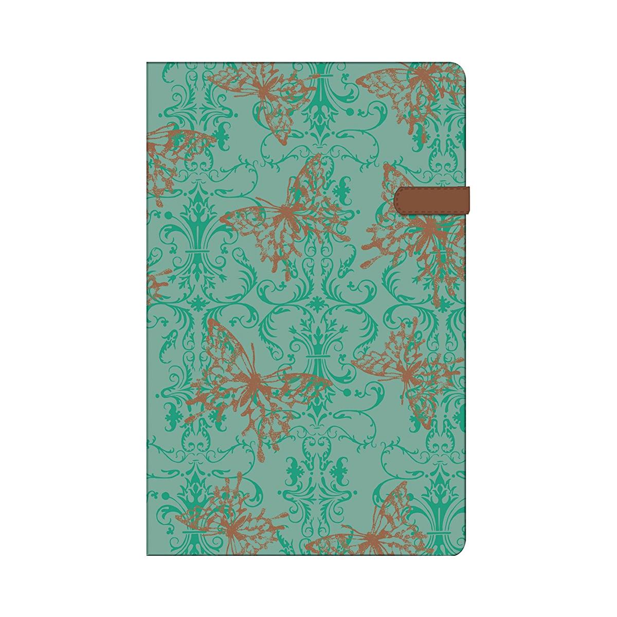 Bloc Notes A5, 96 File, Dictando, Copertă din Pânză, My.Book Classic, Butterfly, Herlitz, 11369386