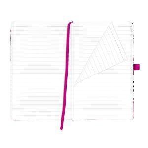 Bloc Notes A5, 96 File, Dictando, Copertă din Pânză, My.Book Classic, Ladylike Bloom, Herlitz, 11370954