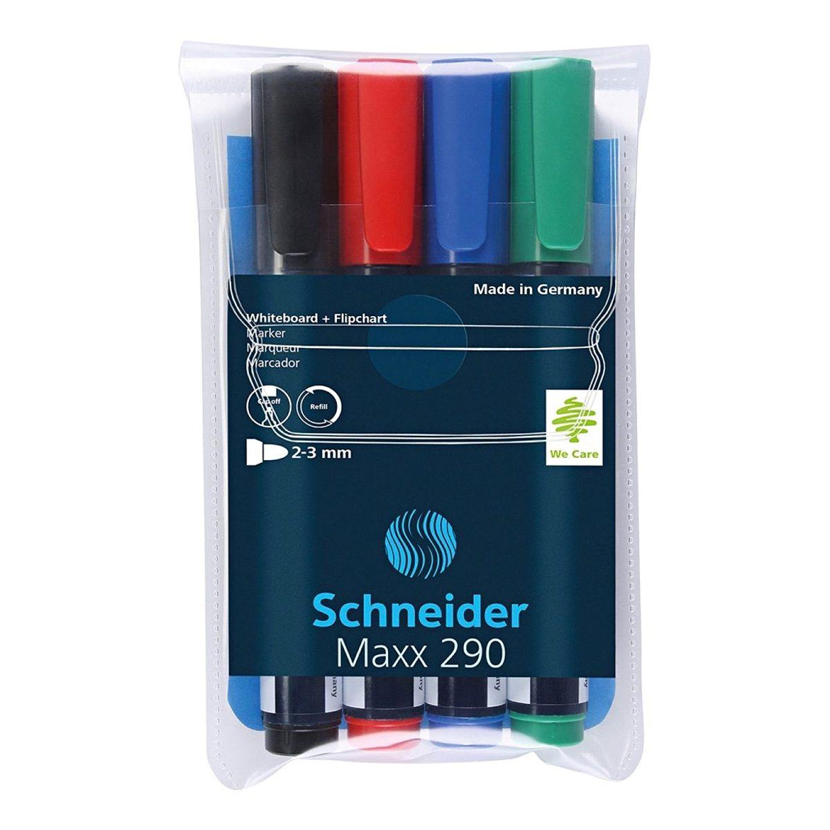 Whiteboard Marker, Maxx 290, Diverse Culori, Schneider, 2931