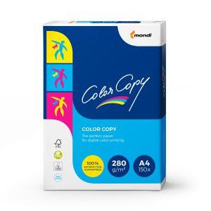 Carton Alb Mat Color Copy, A4, 280 Grame, 150 Coli, Mondi, H856