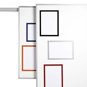 Display Duraframe A4, Autoadeziv, Magnetic, Diferite Culori, Set 2 Bucăţi, Durable