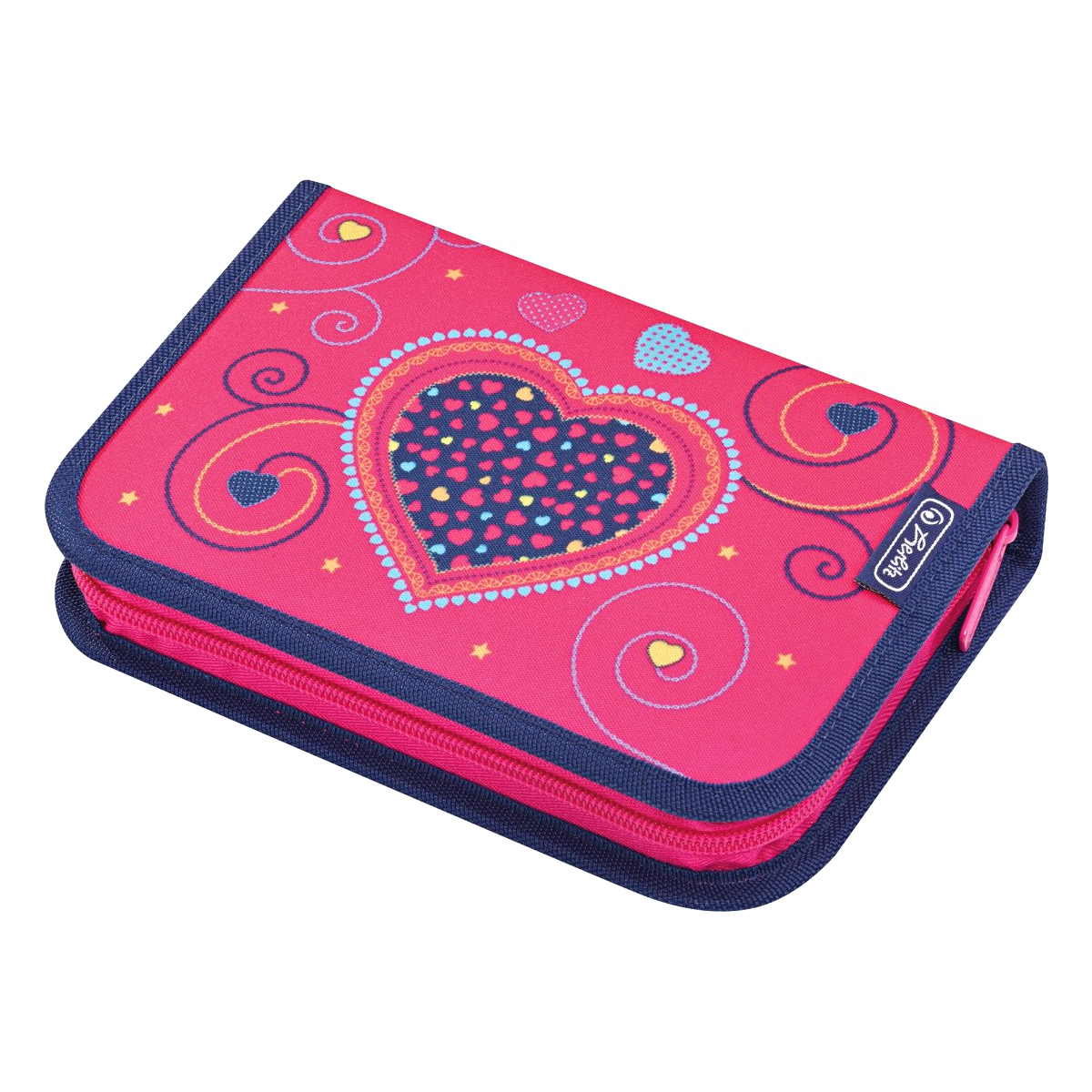 Penar Echipat, 31 Piese, Pink Hearts, Herlitz, 50014347