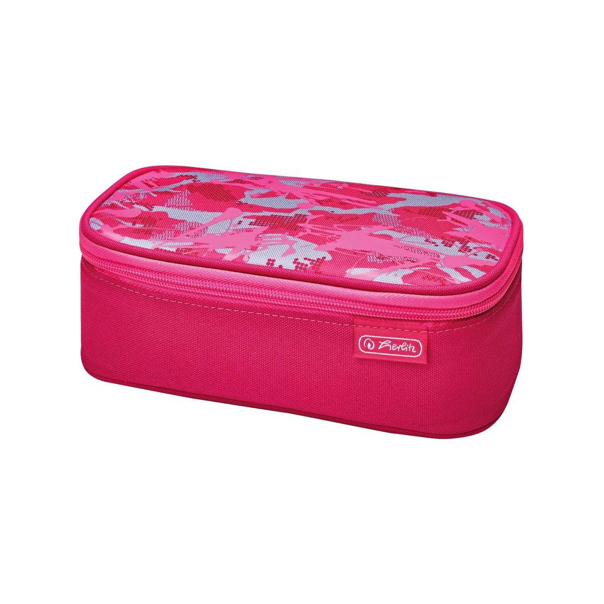 Penar Necessaire, Be.Bag Beat Box, Camouflage Pink, Herlitz, 50015252