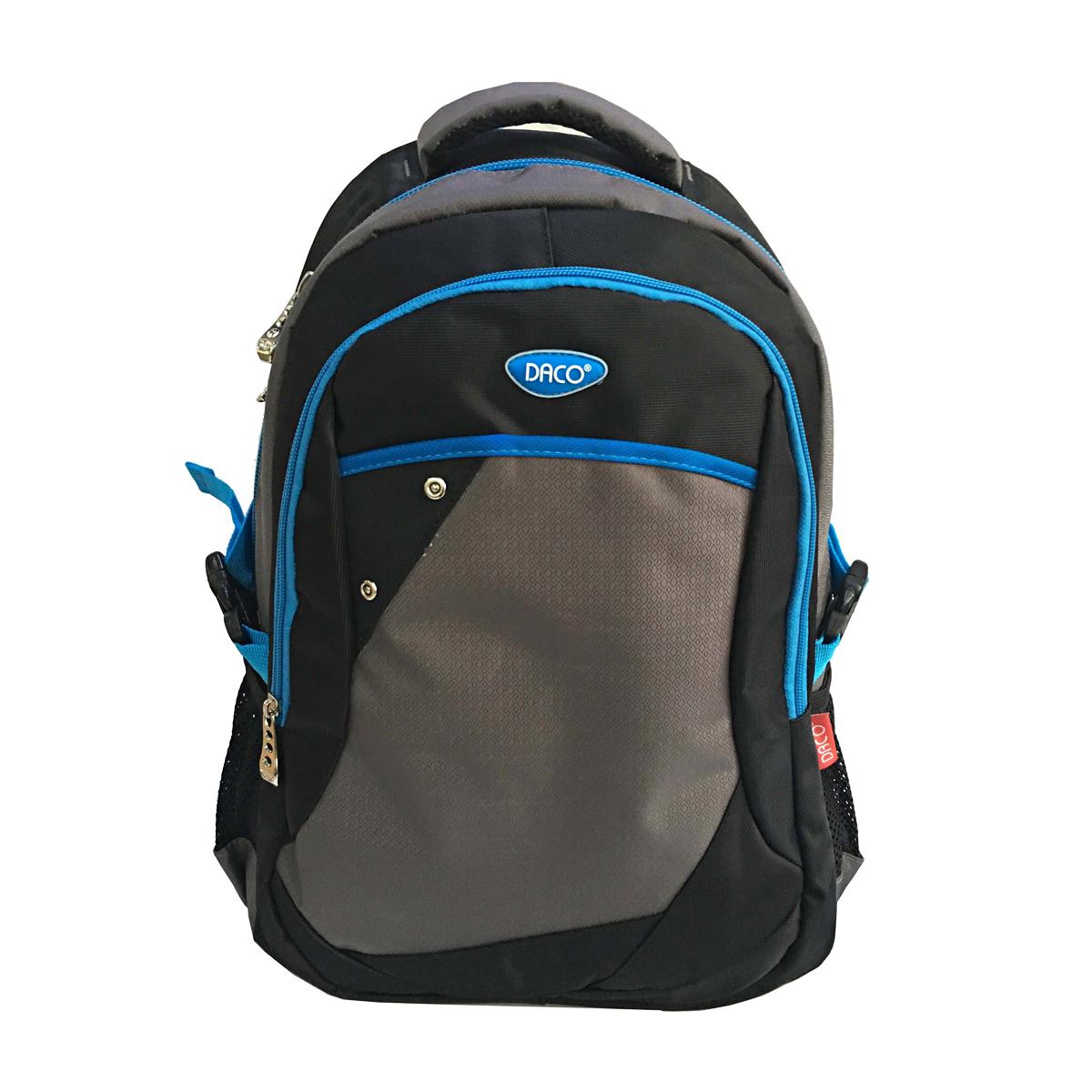 Ghiozdan Pentru Adolescenţi, 46 Centimetri, Albastru & Gri, Daco, GH506