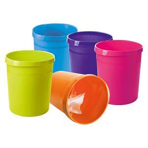 Coş de Birou Pentru Hârtii, 18 Litri, Grip Trend-Colors, HAN
