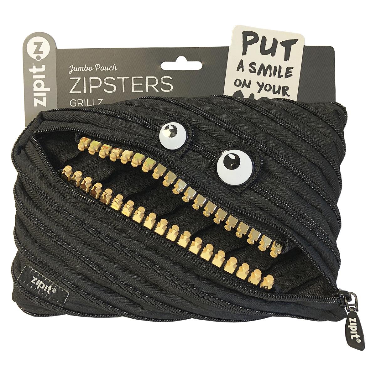 Penar cu Fermoar, Jumbo Pouch Zipsters Grillz, Zipit, ZP-ZTMJ-GR-16-3