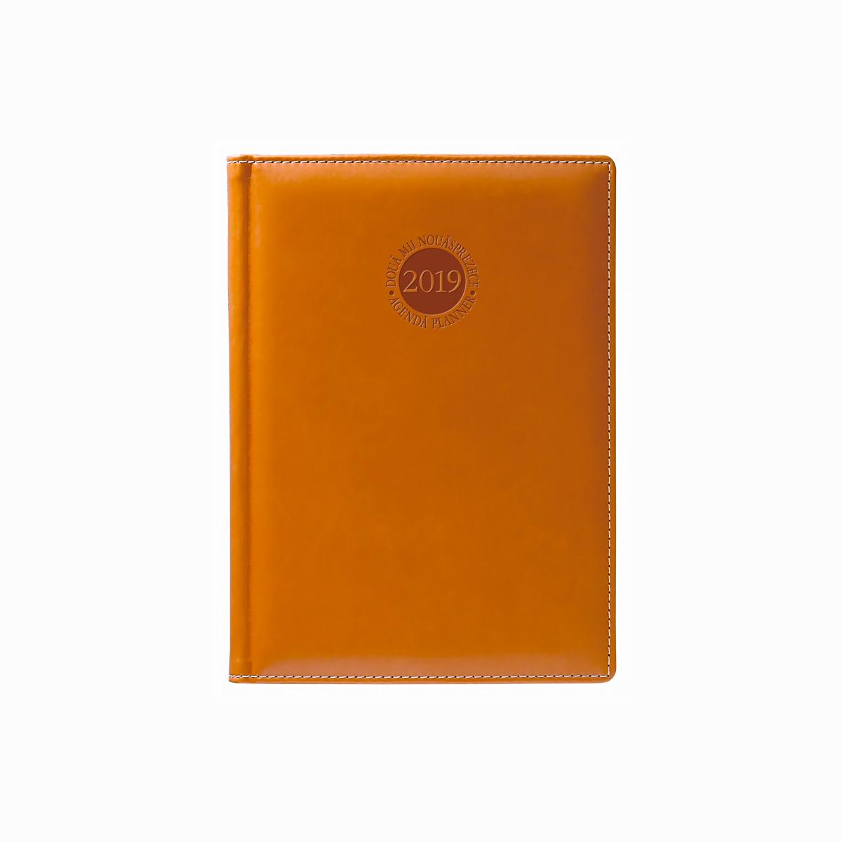 Agendă A5, Datată, 352 File, 2019, Premium Deluxe, Amsterdam, Diverse Culori, Herlitz, 11415346
