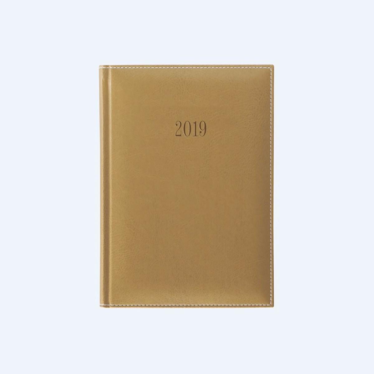Agendă A5, Datată, 2019, 352 File, Deluxe, Diverse Culori, Herlitz, 9479720