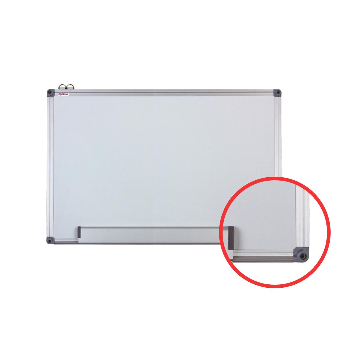 Tablă Albă Magnetică, Ramă din Aluminiu, Diferite Dimensiuni, Optima, OP-20045060, OP-20060090, OP-20090120, OP-20100150, OP-20100200, OP-20120180, OP-20120200, OP-20120240, OP-20120300