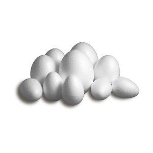 Set Ouă din Polistiren, Diferite Dimensiuni, Meyco, 43060, 43061, 43062