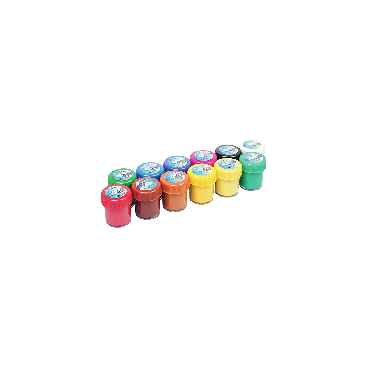 Guașe, 12 Culori, 20 Mililitri, Model Zoo, Centrum, 82561