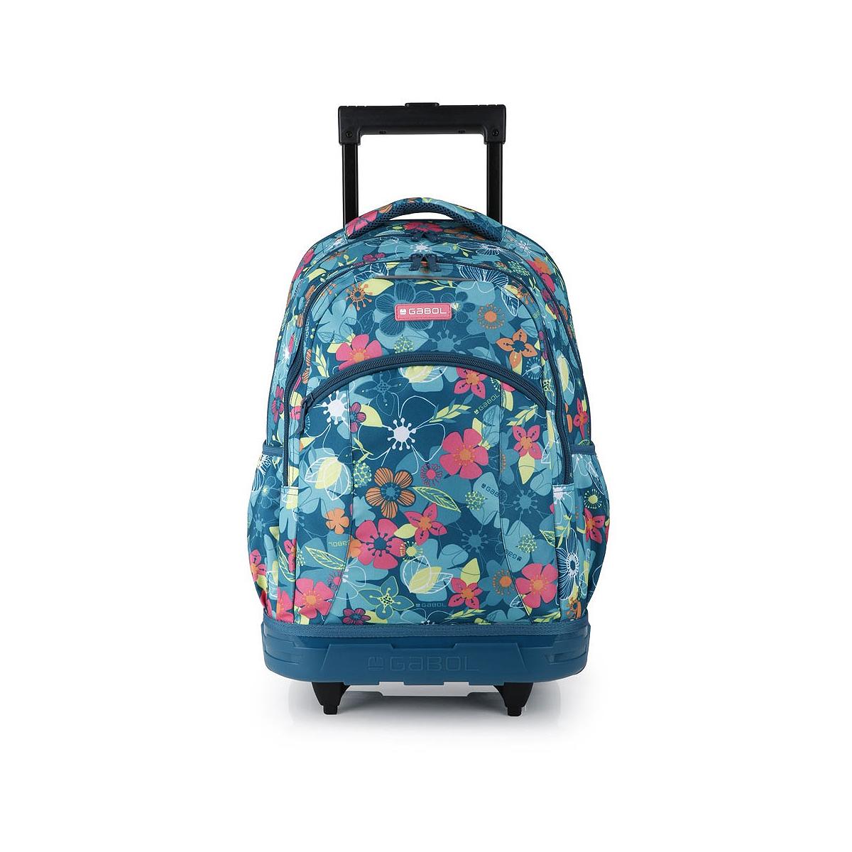 Ghiozdan Troller, Două Compartimente, Multicolor, Model Aloha, Gabol, 224847