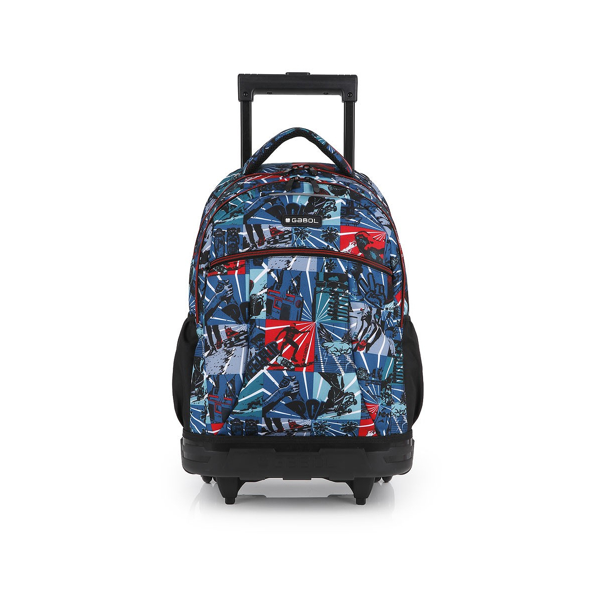 Ghiozdan Troller, Două Compartimente, Multicolor, Model Flip, Gabol, 225247