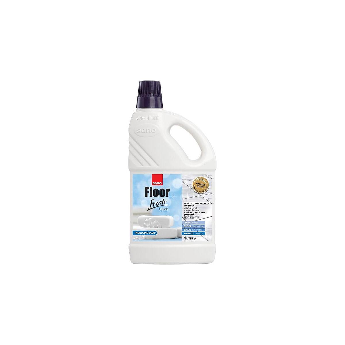 Detergent Pentru Pardoseli, 2 Litri, Fresh Soap, Sano Floor, 397781