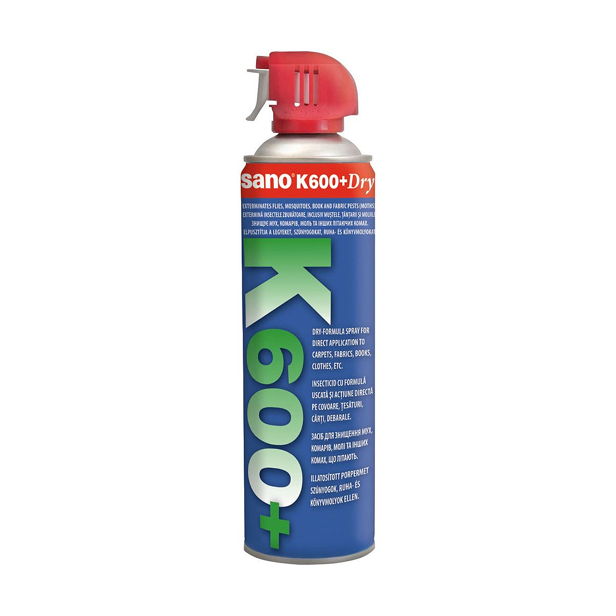 Spray Insecticid cu Aerosol, K600, 500 Mililitri, Sano, 7290000288390