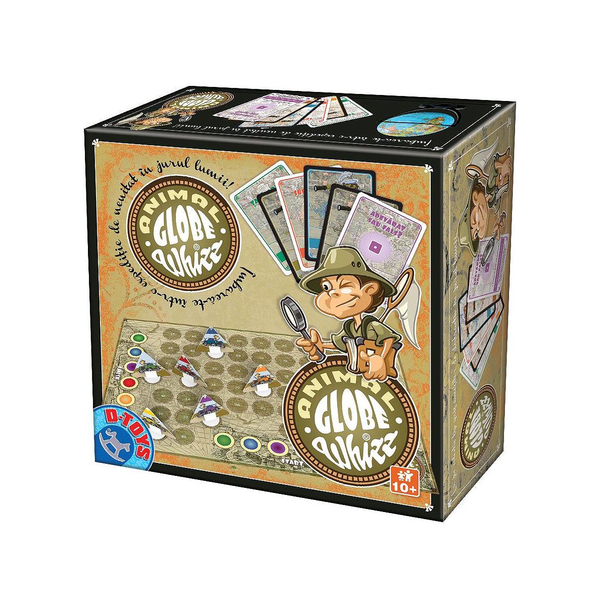 Joc de Societate, Globe Whizz Animale, D-Toys, 73426