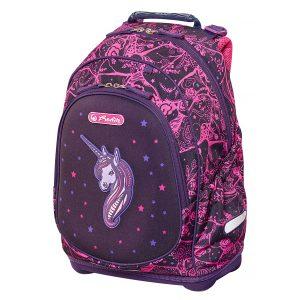 Rucsac Neechipat Pentru Școală, Bliss, Unicorn Night, Herlitz, 50013999