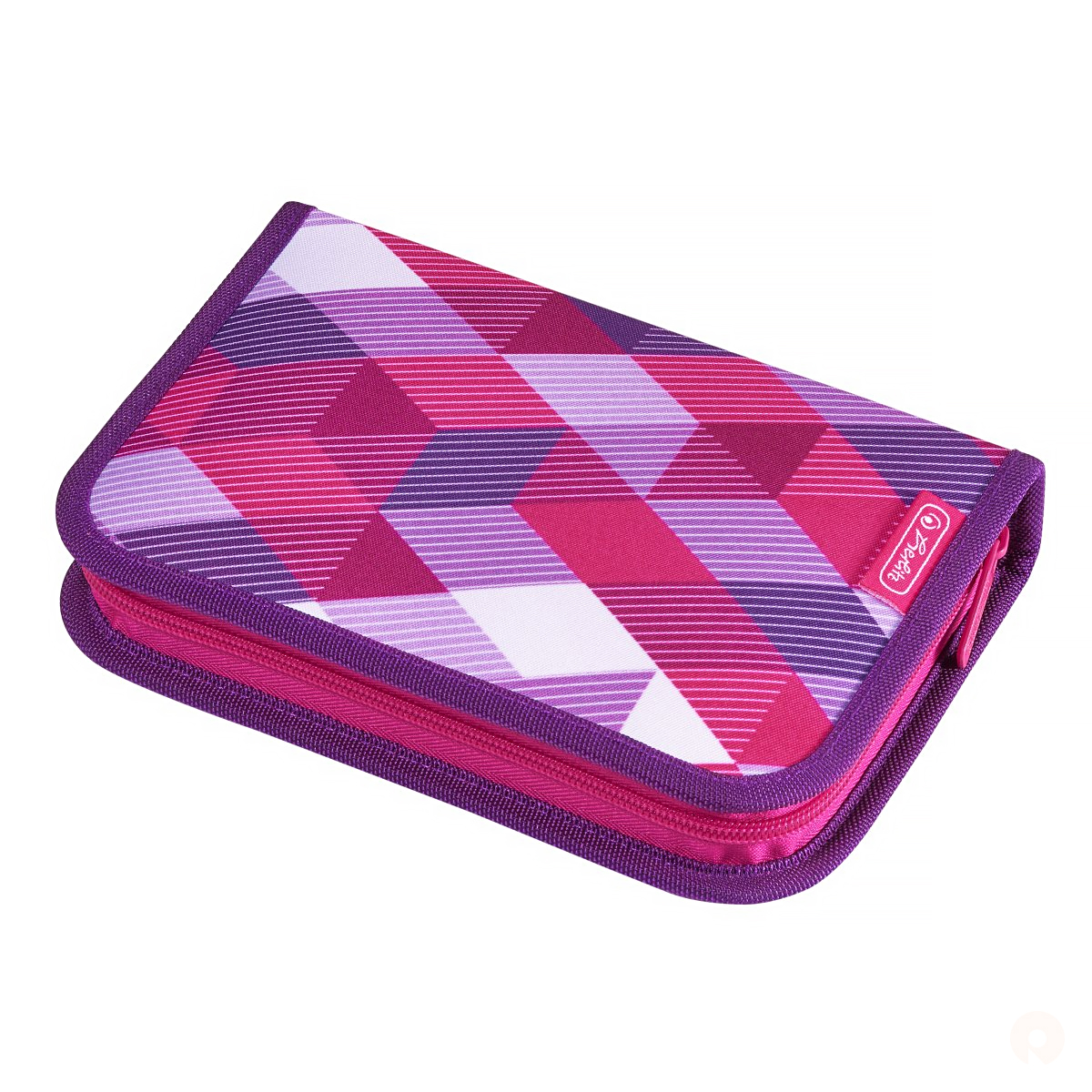 Penar Echipat, 31 Piese, Motiv Pink Cubes, Herlitz, 50020973