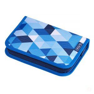 Penar Echipat, 31 Piese, Motiv Blue Cubes, Herlitz, 50021031